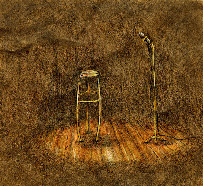 stool-in-spotlight